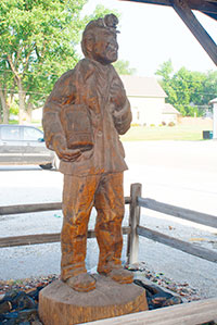 Madrid Coal Miner Statue