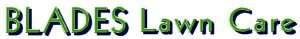 Blades Lawn Care logo