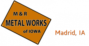 M and R Metalworks of Iowa logo