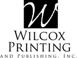Wilcox Printing and Publishing logo