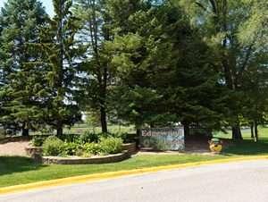 Edgewood Park Entrance