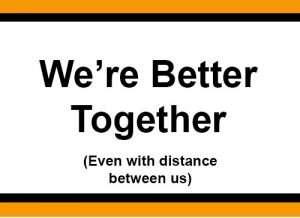 We're better together image2